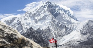 Jesper finished the World Highest Marathon
