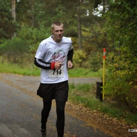 Bornholm, SAN Marathon. 13.10.2013 Kims first marathon