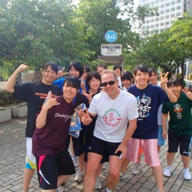Training experience in Tokyo, Japan for Bornholm Runner
