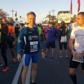 Daniel ran Marrakech Marathon 29.01.2017