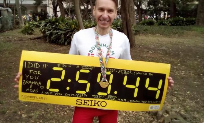 Daniel Penk – first Bornholm Runner under the 3 hours!!