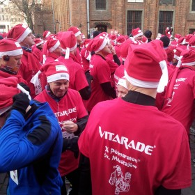 December 2012, Santa Half Marathon Toruń, PL