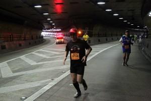 Jesper in tunnel