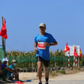 Nha – full marathon in 37 degree Celcius