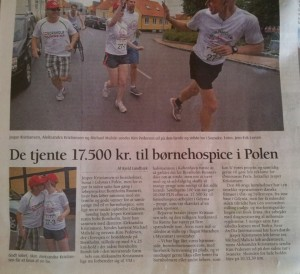 Bornholm Runners got PR in local news