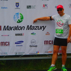 Mazury Marathon and 10 km 14.06.2014 – 5220 PLN raised for Gdynia Children Hospice from Espersen on Bornholm