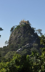 Temple on mountain