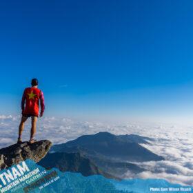 Nha ran the Vietnam Mountain Ultra Trail Marathon Sapa 70 km