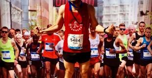 Mark running Copenhagen Marathon May 20 2018