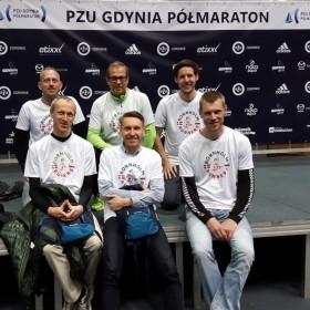 Seven runners at PZU Gdynia Half Marathon March 20th 2016